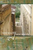 New World  New Words