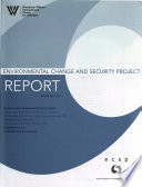 Environmental Change and Security Project Report