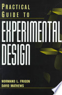 Practical Guide to Experimental Design Book