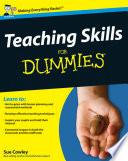 Teaching Skills For Dummies Book