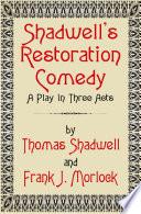 Thomas Shadwell Books, Thomas Shadwell poetry book