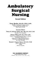 Ambulatory Surgical Nursing Book