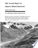 1987 Annual Report on Alaska s Mineral Resources