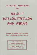 Clinical Handbook of Adult Exploitation and Abuse