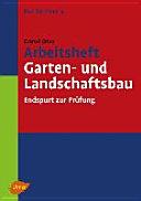 Arbeitsheft Garten- und Landschaftsbau