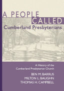 A People Called Cumberland Presbyterians [Pdf/ePub] eBook