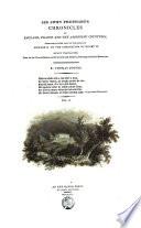 Sir John Froissart's Chronicles of England