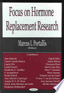 Focus on Hormone Replacement Research Book
