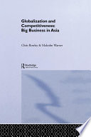 Globalization and Competitiveness Book