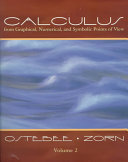 Calculus From Graphical Numerical And Symbolic Points Of View [Pdf/ePub] eBook