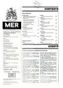 MER  Marine Engineers Review