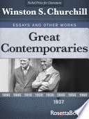 Great Contemporaries 1937