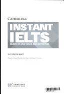 Instant IELTS. Book