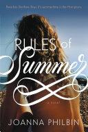 Rules of Summer Pdf/ePub eBook