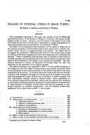 Release of Internal Stress in Brass Tubing