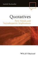 Quotatives [Pdf/ePub] eBook