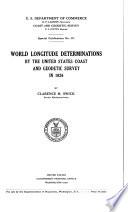 World Longitude Determinations