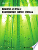 Frontiers On Recent Developments In Plant Science Book PDF