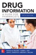 Drug Information A Guide for Pharmacists 5/E Pdf/ePub eBook