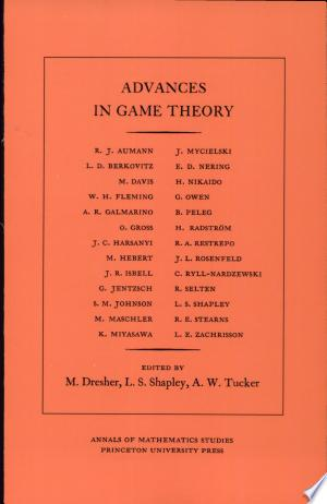 Download Advances in Game Theory Free Books - Dlebooks.net