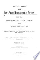 Report of the Iowa State Horticultural Society