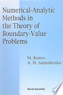 Numerical-Analytic Methods in the Theory of Boundary-Value Problems