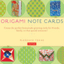 Origami Note Cards Kit