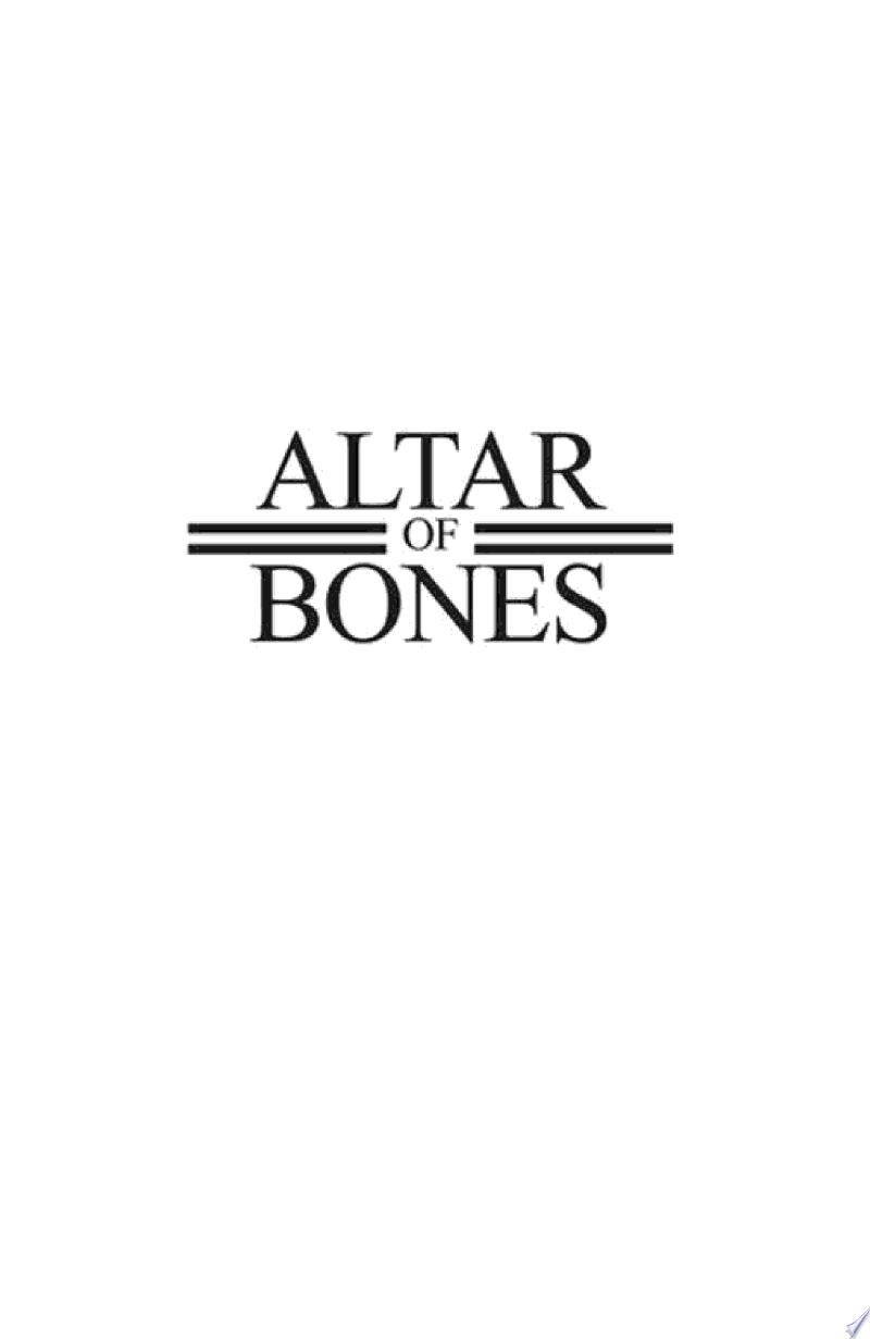 Altar of Bones banner backdrop