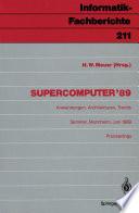 Supercomputer '89