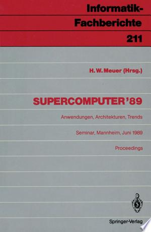 Download Supercomputer '89 Free Books - Dlebooks.net