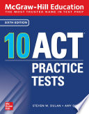 McGraw Hill Education  10 ACT Practice Tests  Sixth Edition