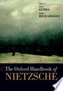 The Oxford Handbook of Nietzsche Book PDF