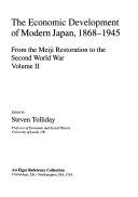 The Economic Development of Modern Japan, 1868-1945