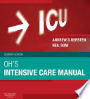 """Oh's Intensive Care Manual E-Book"" by Andrew D Bersten, Jonathan Handy"