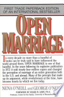 """Open Marriage: A New Life Style for Couples"" by Nena O'Neill, George O'Neill"