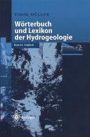 W  rterbuch und Lexikon der Hydrogeologie