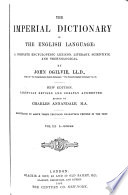 The Imperial Dictionary of the English Language Book PDF