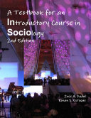 A Textbook for an Introductory Course in Sociology 2nd Edition