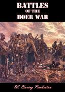 Battles of the Boer War Pdf/ePub eBook