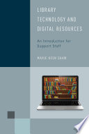Library Technology And Digital Resources Book PDF