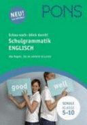 Schulgrammatik Englisch