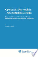Operations Research in Transportation Systems