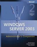 Microsoft® Windows ServerTM 2003 Administrator's Companion
