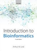 Introduction to Bioinformatics