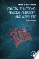 Fractal Functions  Fractal Surfaces  and Wavelets