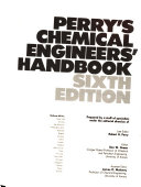 Perry S Chemical Engineers Handbook Book PDF