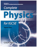 Cover of Complete Physics for IGCSE