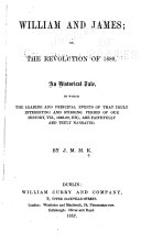 William and James; Or, The Revolution of 1688