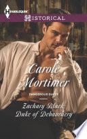 Zachary Black  Duke of Debauchery Book