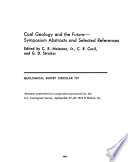 Coal Geology And The Future